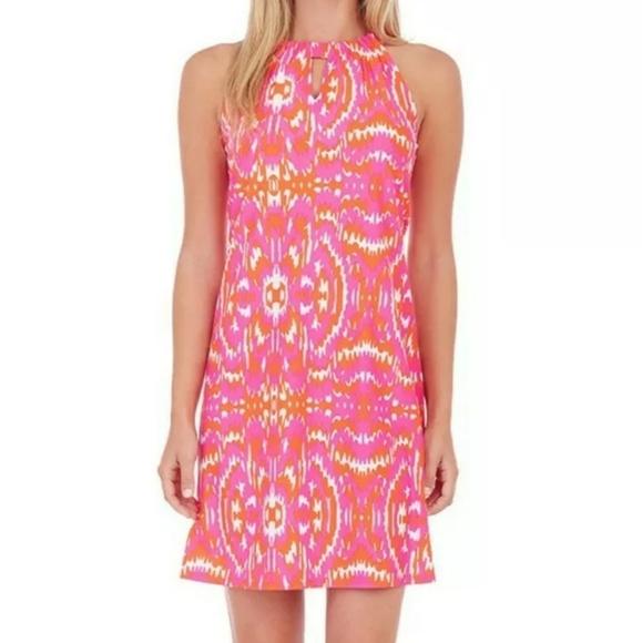 Jude Connally Sienna Hot Spring Vibes Print Dress